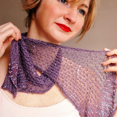 Daisy scarf