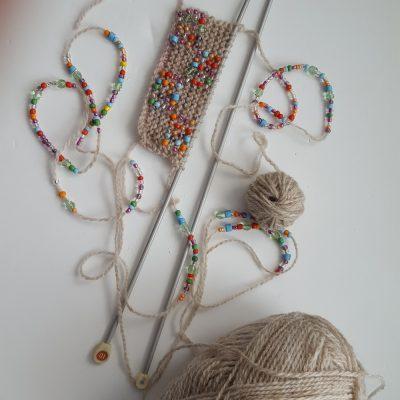 threaded beads